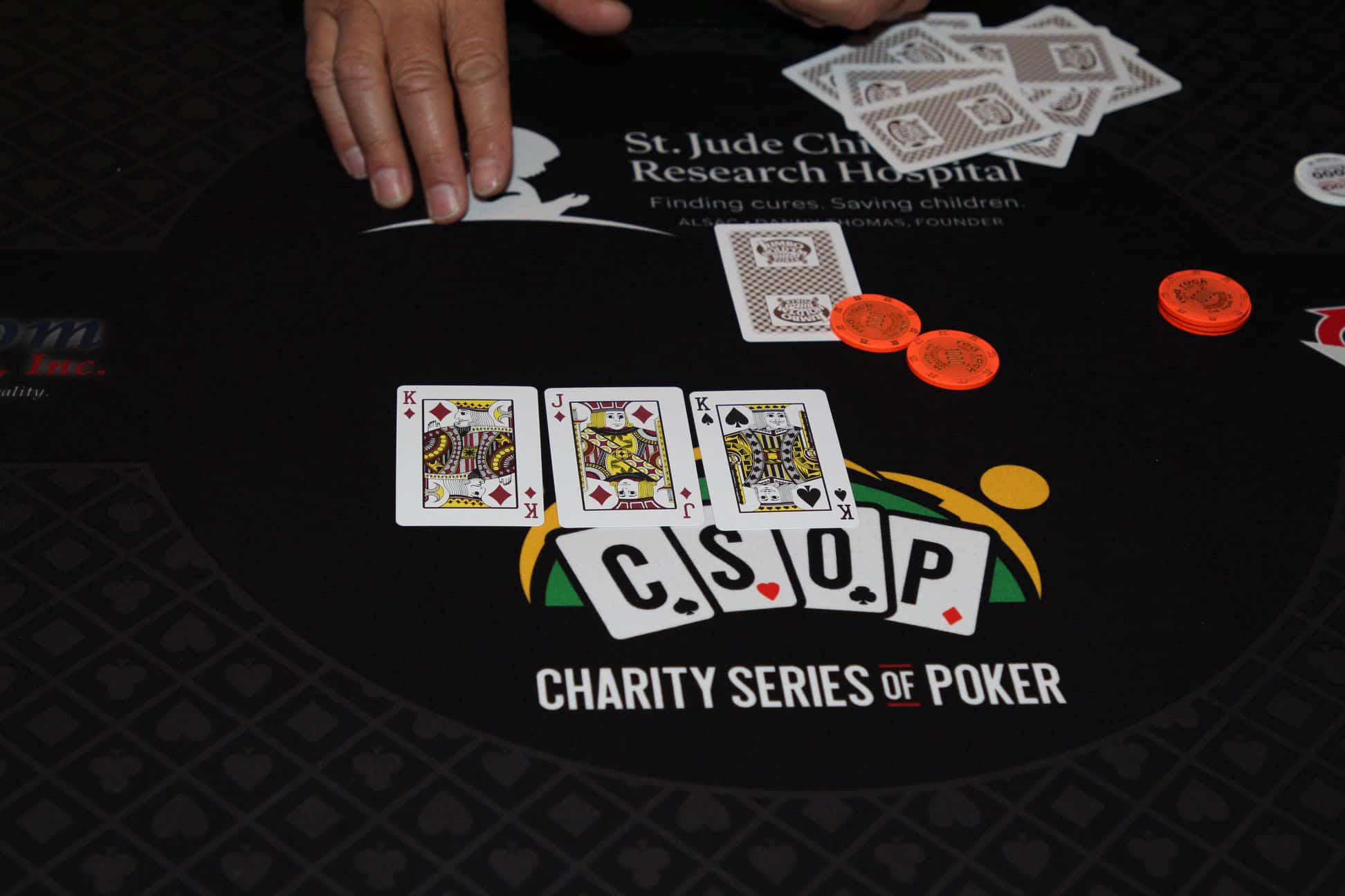 Photo of Charity Series of Poker on its way to organize the grand Rivers Casino on August 29