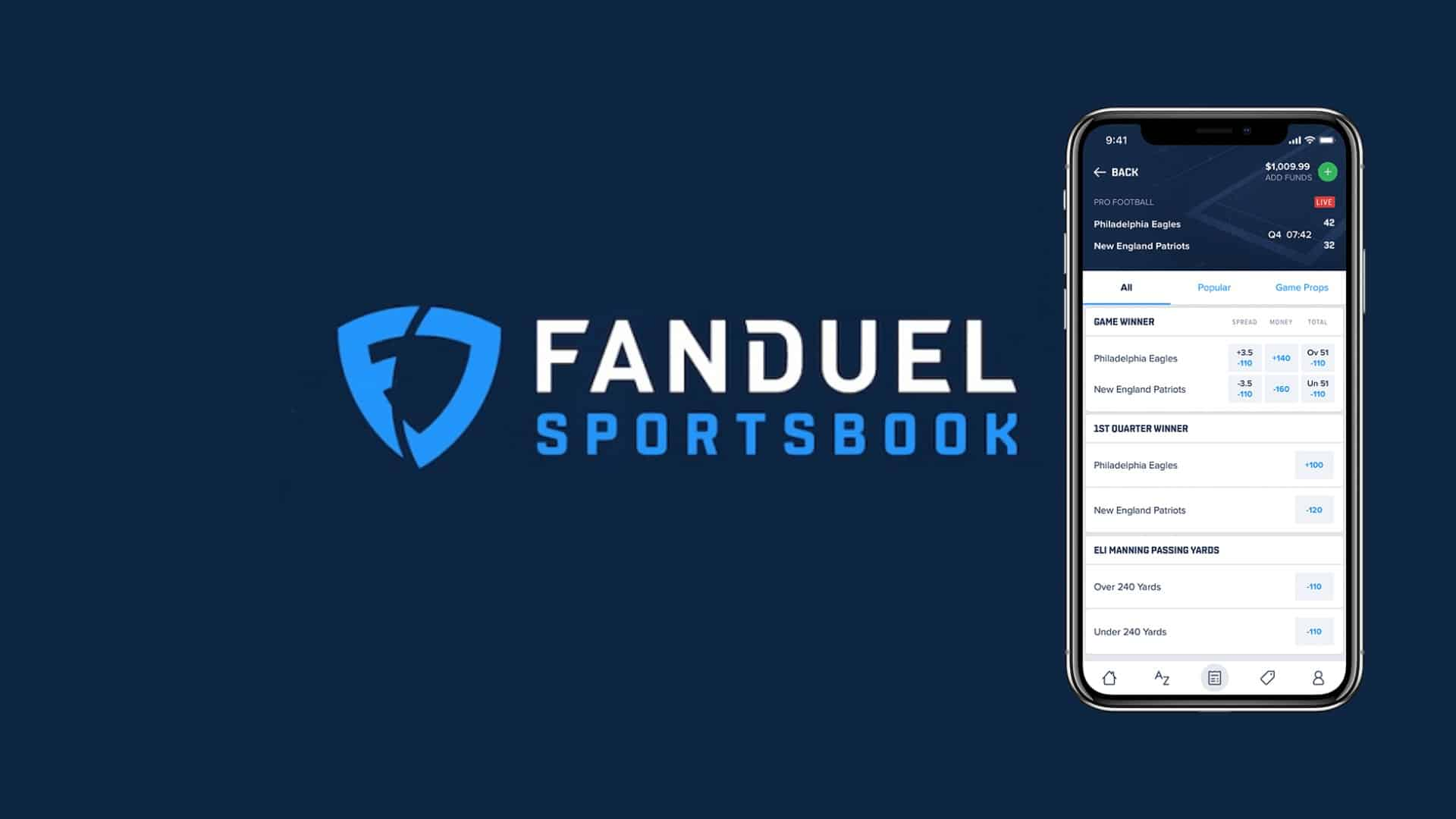 Fanduel Serves West Virginia with its First Ever Mobile Sportsbook