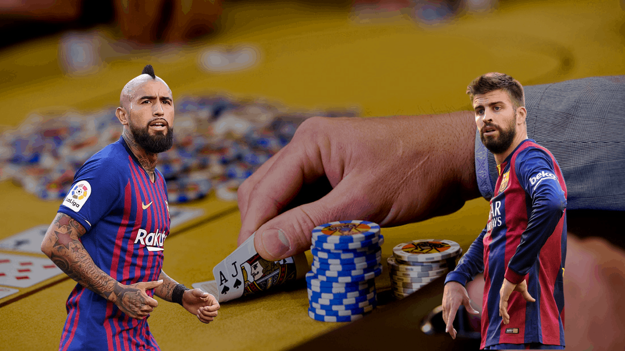 Pique and Vidal, Barcelona Football Stars Win £500k in Pro Poker Tournament