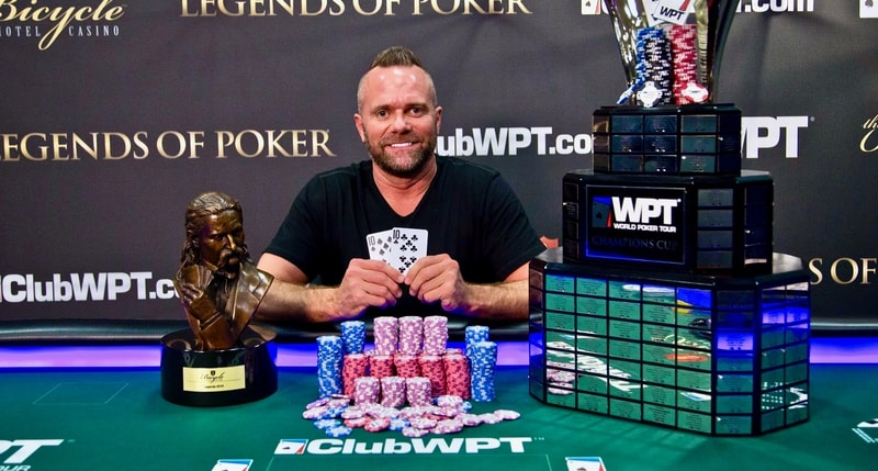 Aaron Van Blarcum Wins 2019 World Poker Tour Legends of Poker Main Event