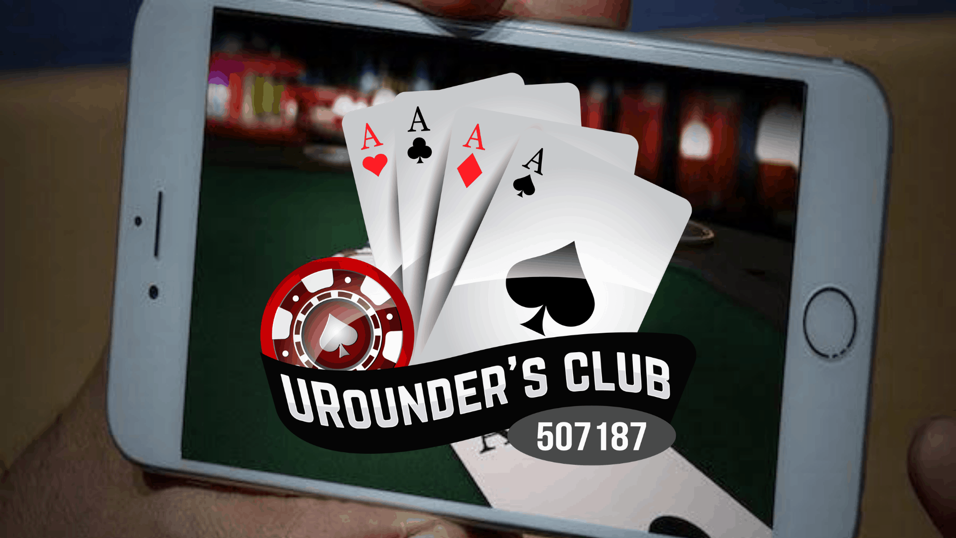 Play Poker with URounder Club Anytime, Anywhere from Your Mobile Phone