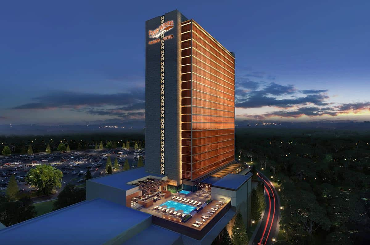 Photo of South Bend Casino Flourishes, Michigan to Build a 23-Story Hotel