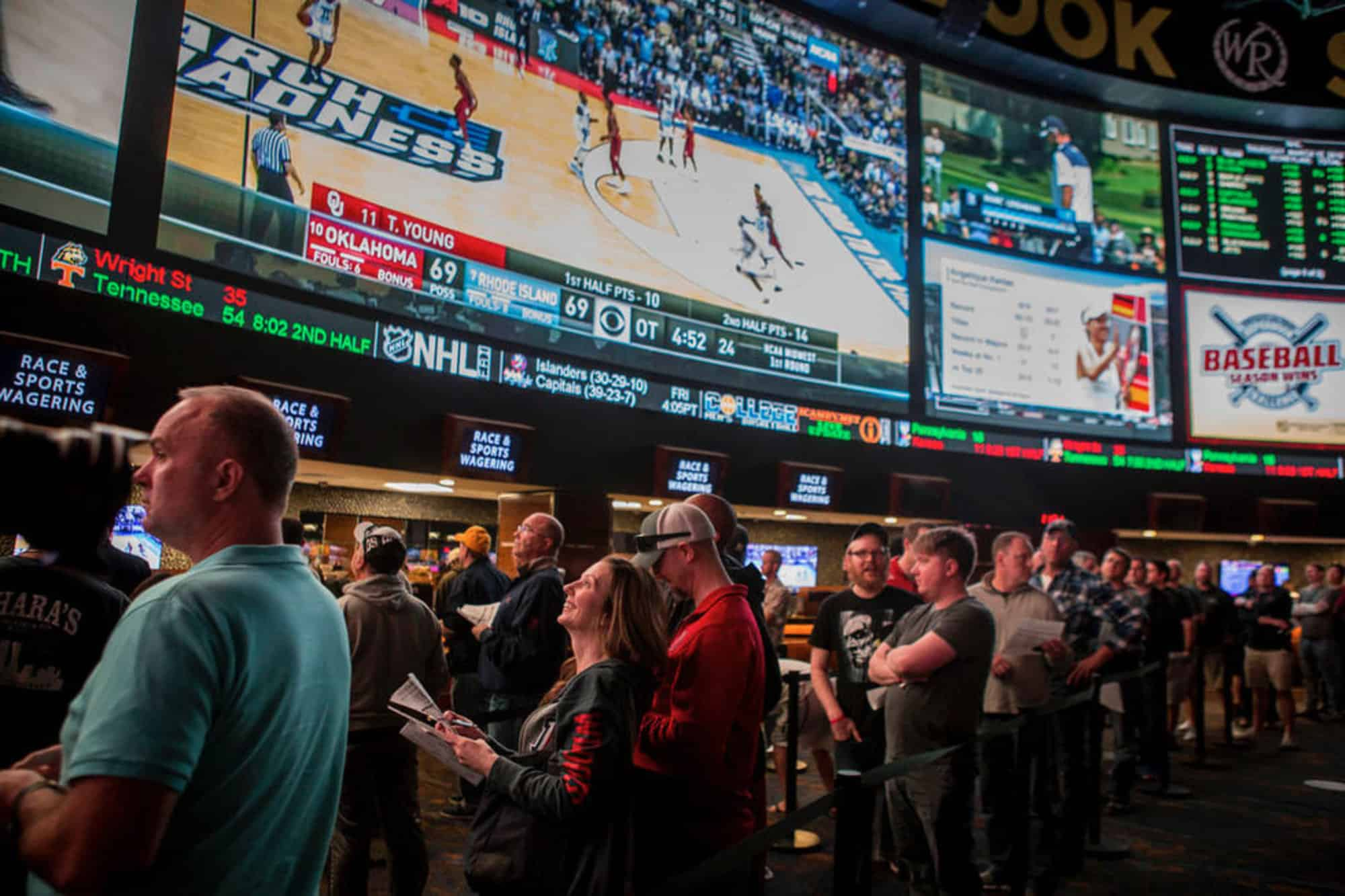 The Governor of New Jersey Defends Tax Rate on Sports Betting