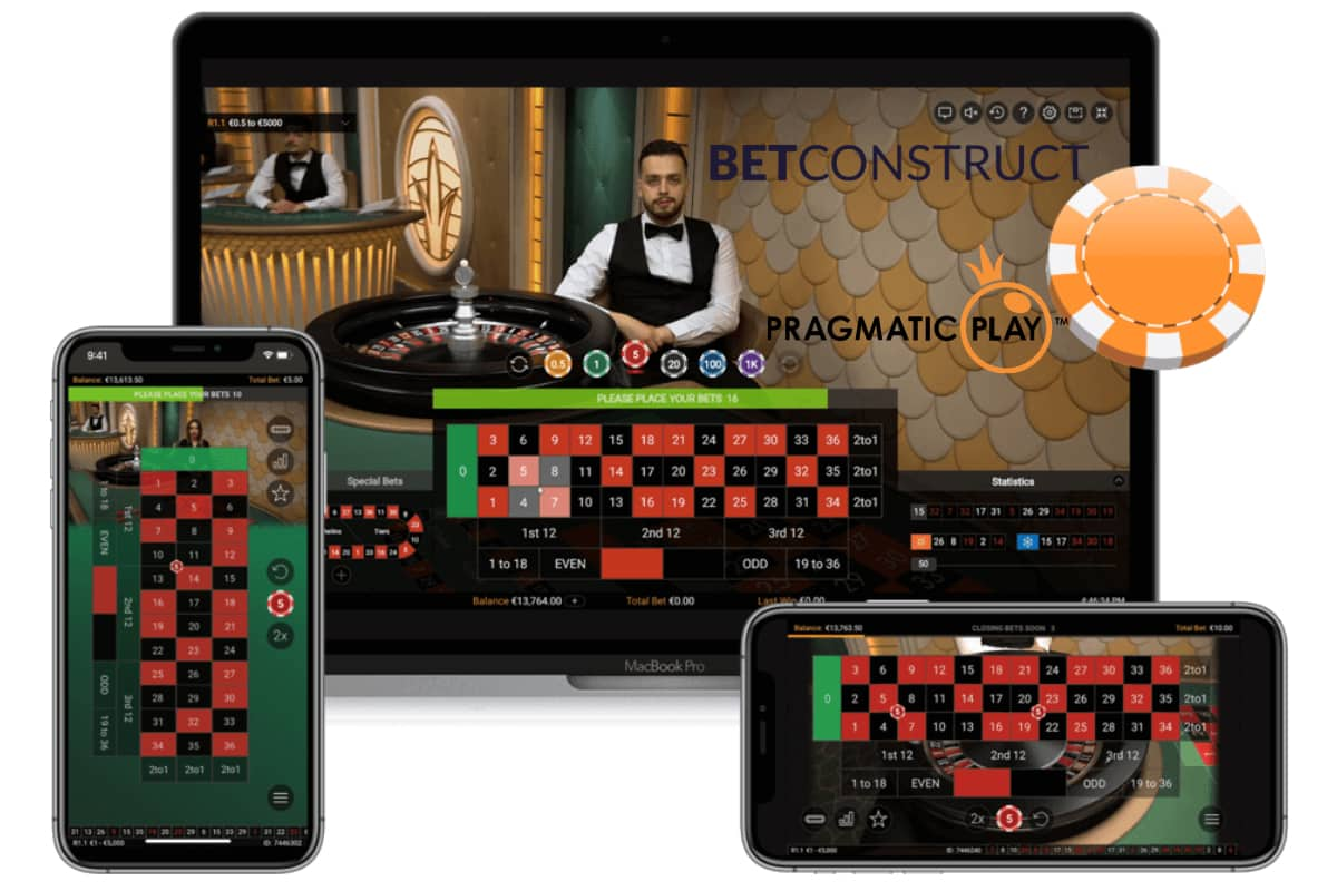 BetConstruct Users To Enjoy Pragmatic Play's Live Casino Facility