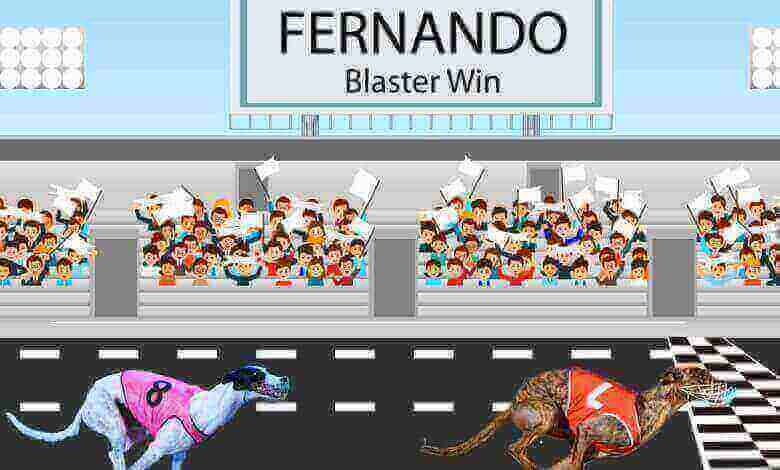 FERNANDO Blaster best on Friday smashing the track record winning Group 3 Casino Cup