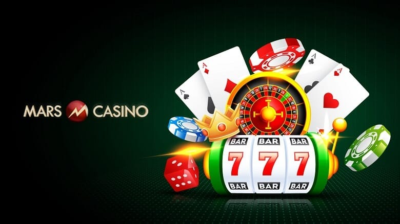 online casino games on Mars Casino