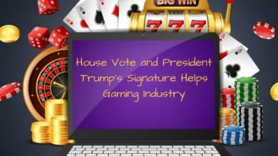 Photo of House Vote and President Trump's Signature, Send Out Relief Signals to the Gaming Industry