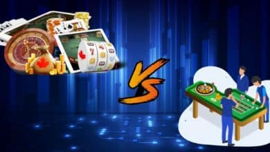 Online Casino vs Land based Casinos