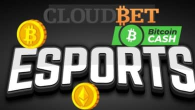 Photo of Cloudbet Offers eSports Betting With Bitcoin, Bitcoin Cash, and Ethereum
