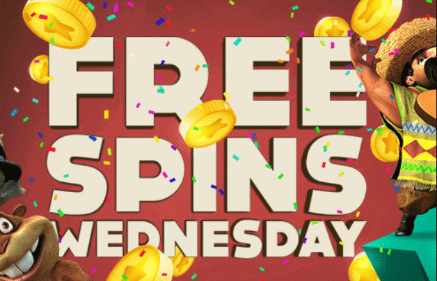 Win Free spins Every Wednesday