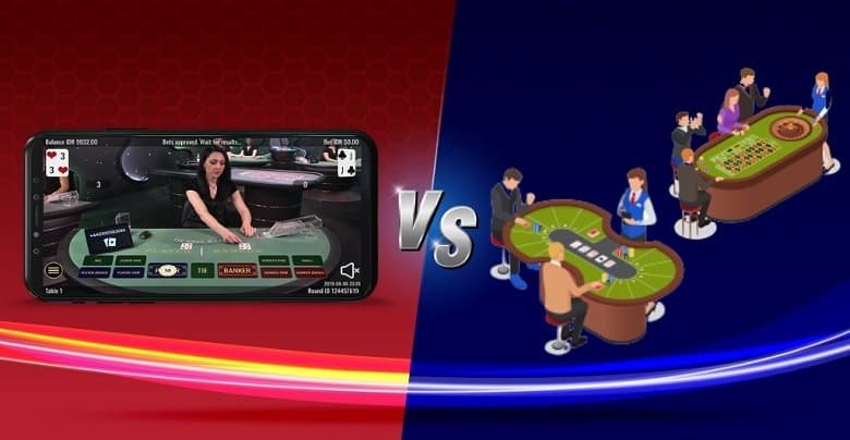 Here Is The Comparison Between Live Dealer Casino Land Based Casino