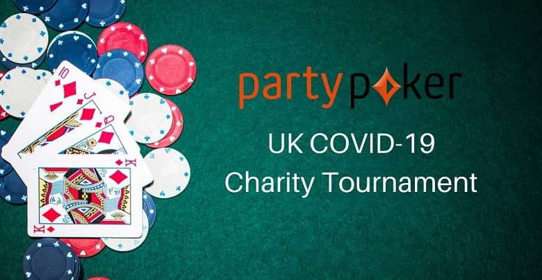 Online Poker Rooms Partypoker Announce UK COVID-19 Charity Tournament