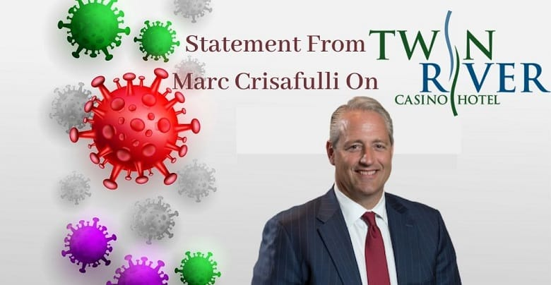 Statement from Marc Crisafulli on Twin River