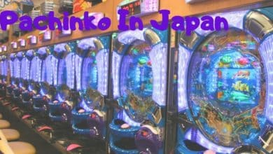 Pachinko Slot Machine in Japan