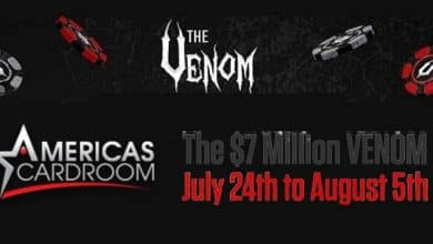 Win big with Venom Tournament at Americas Cardroom