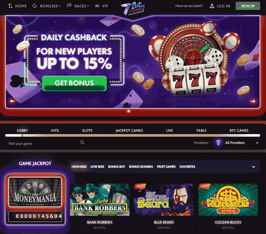 Look for the original casino logo and license number on the website