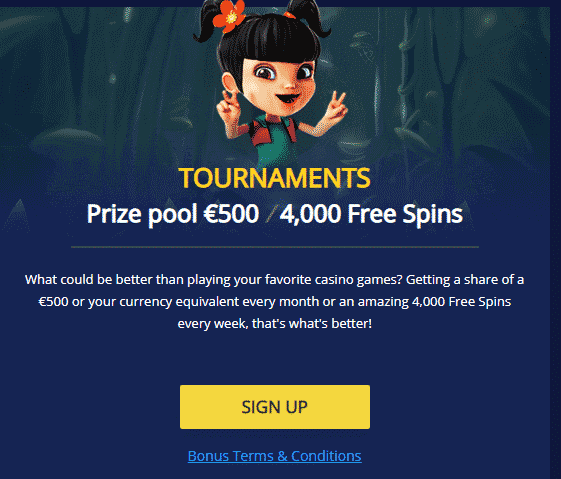BetChain Review - Tournaments