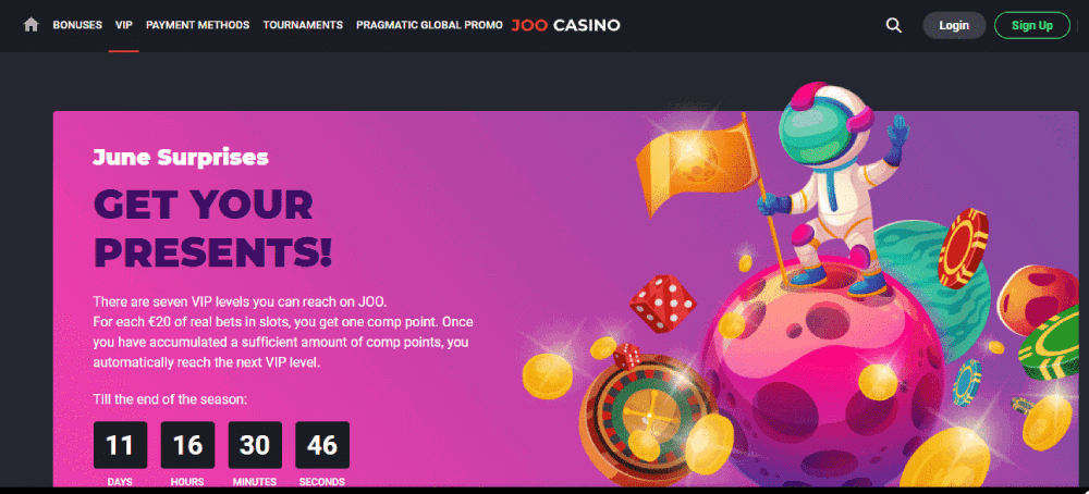 Joo casino review - The VIP Club