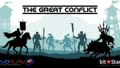 EvoPlay Unveils The Great Conflict Slots Game On BitStarz