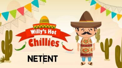 Willy's Hot Chillies Slots Game
