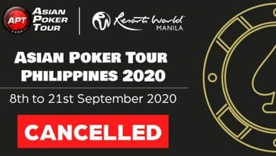 Photo of Asian Poker Tour Philippines Gets Cancelled Due To COVID-19 Impact