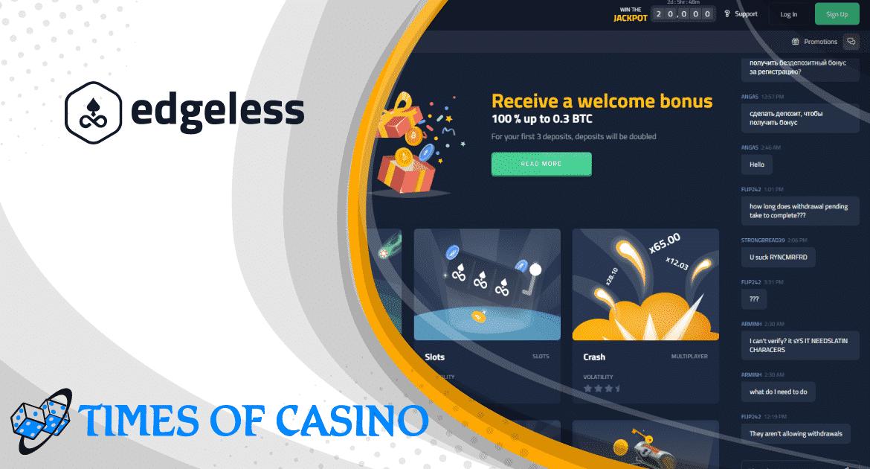 Edgeless Casino Bewertung