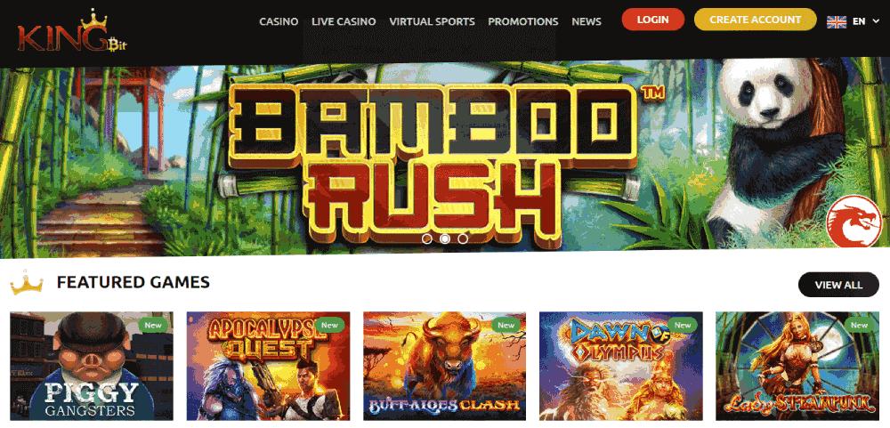Kingbit Casino Reviews - Best Online Casino