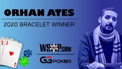 Photo of Star Player Orhan Ates Wins Bracelet In GGPoker WSOP 2020 Series