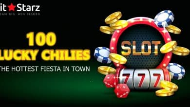 Online Casino BitStarz Launches 100 Lucky Chilies Slot for Users