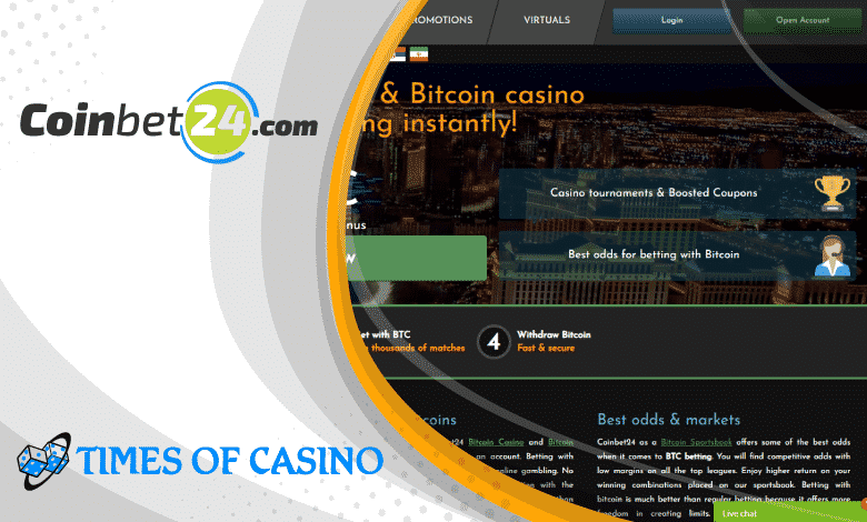 Coinbet24 Review 2020 - Trusted <bold>Bitcoin</bold> Sportsbook and <bold>Casino</bold>