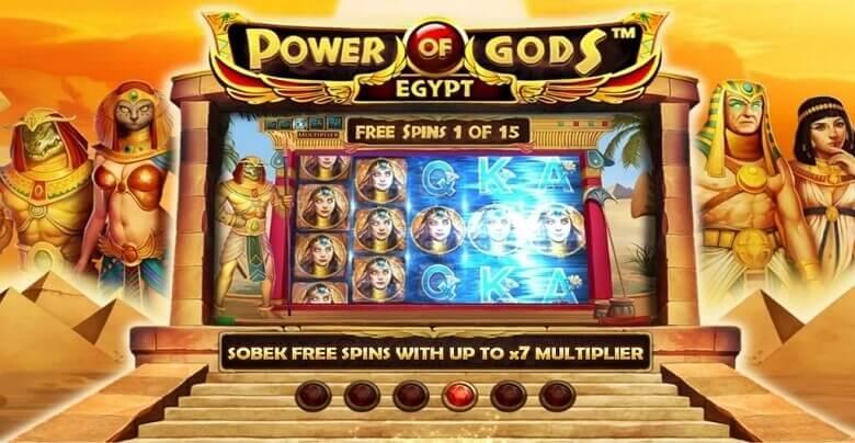 BitStarz Meluncurkan Game Baru, Power of Gods: Egypt