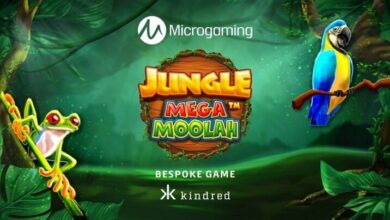 Microgaming's Jungle Mega Moolah Slot