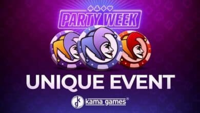 KamaGames Starts New Year with an In-Game Event, Party Week
