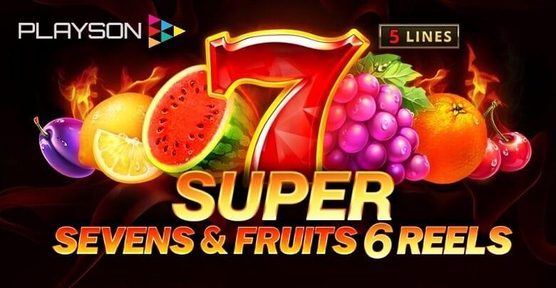 5 Slot Super Sevens & Buah adalah Rilis Terbaru Playson