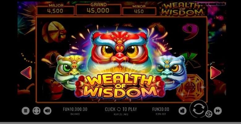 Slot Wealth of Wisdom oleh Bitstarz