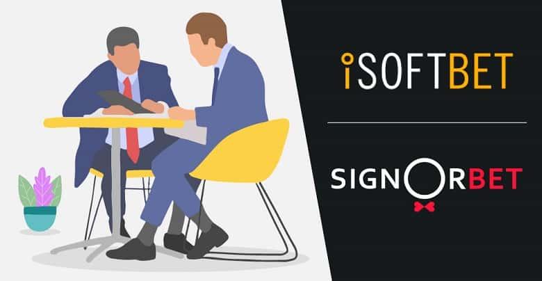 iSoftBet Menandatangani Kesepakatan Konten dengan SignorBet