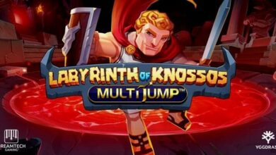 Dreamtech Gaming Introduces Labyrinth Of Knossos MultiJump™