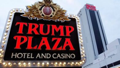 Trump Casino Demolished