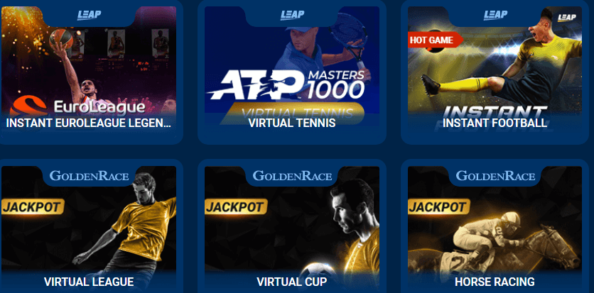 Virtual Sports Games @MostBet Casino