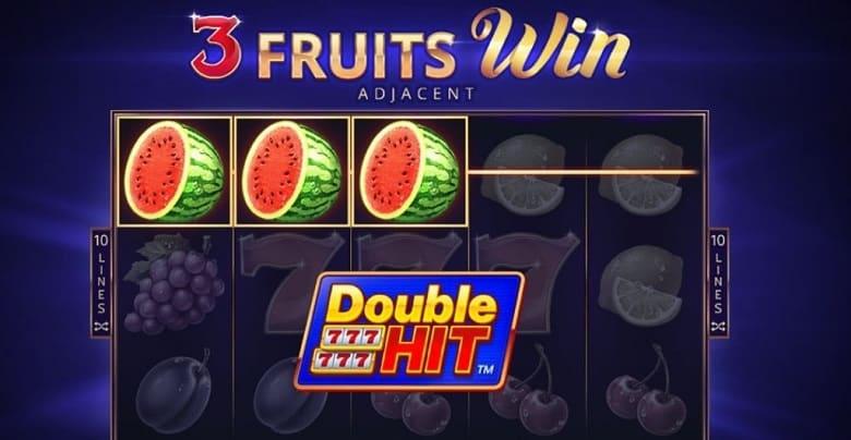 Jelajahi Keseruan dengan '3 Fruits Win Double Hit' dari Playson