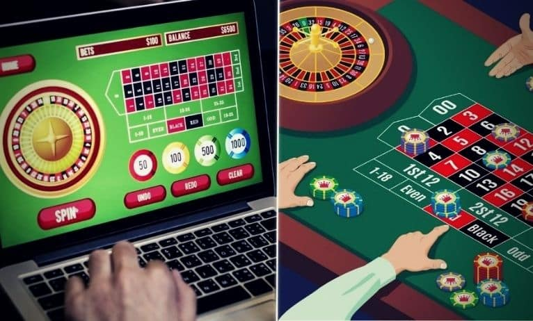 What Are the Main Differences Between Online and Live Gambling?
